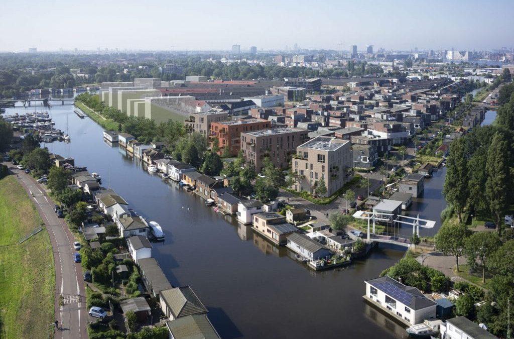 Groen wonen binnen de ring van Amsterdam